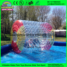 Good price PVC inflatable water roller ,outdoor rolling ball toy ,inflatable ball toy for sale
