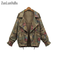 51c91b463999b ... Loose Women Bomber Jacket Ladies Army Green Harajuku Leopard Turn Down  Collar. US $23.99 US $19.67. 2018 Sonbahar Kış Rahat Gevşek Kadın Bombacı  Ceket ...