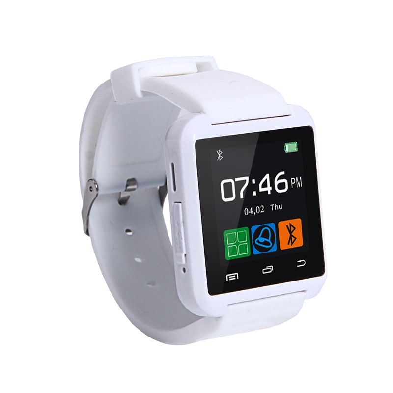 Smart Watches U8 Sport  Pedometer Handsfree Bluetooth Smartwatch Wristband for Android Phone black one size 15