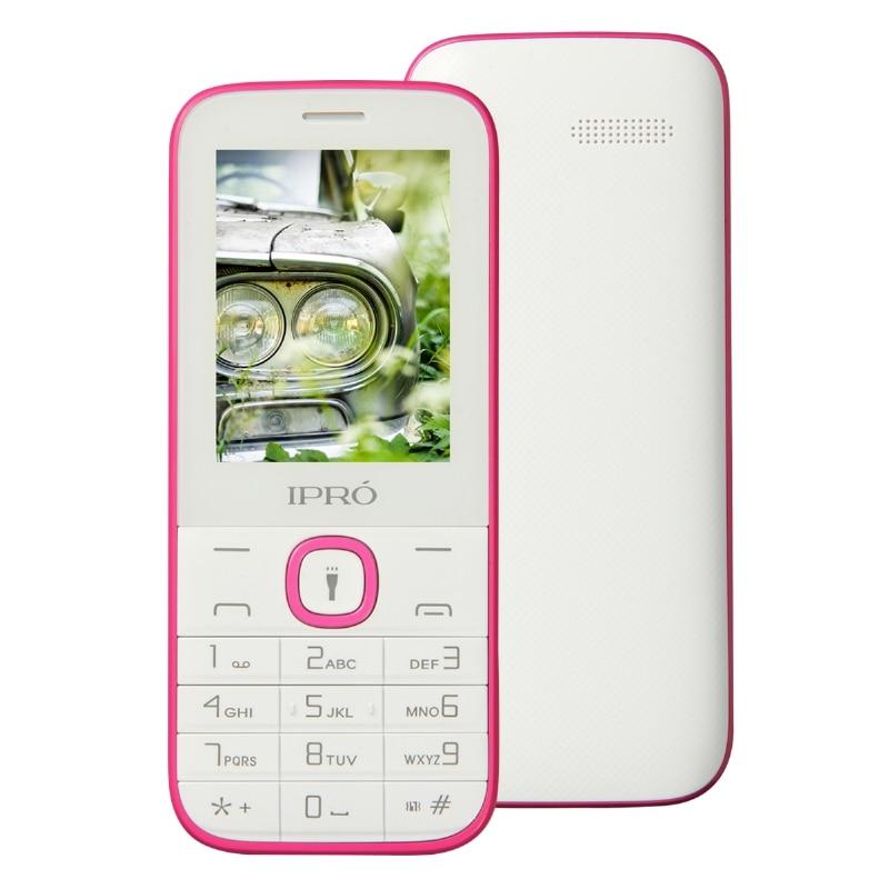 IPRO I324F Unlocked Mobile Phone SC6531DA 2 4 Inch English Spanish Russian Original 2G GSM Dual