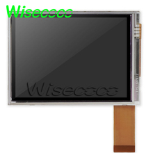 цена на 2pcs Original 3.5 inch for NL2432HC22-50B  LCD display with touch screen for handheld