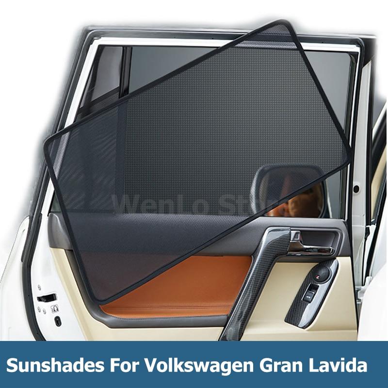 Rear Door Car Window Sun Shade Shield Blind Mesh For Skoda Octavia A7 2013-2018