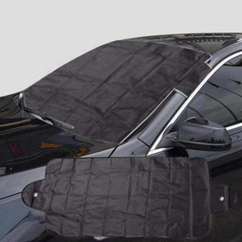Антиснежное серебряное покрытие, защитное Авто солнцезащитное покрытие, лобовое стекло, переднее окно автомобиля, защита от УФ-излучения, солнцезащитные очки
