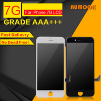 10pcs Lot Quality AAA No Dead Pixel LCD Display For IPhone 7 LCD Screen Touch Digitizer