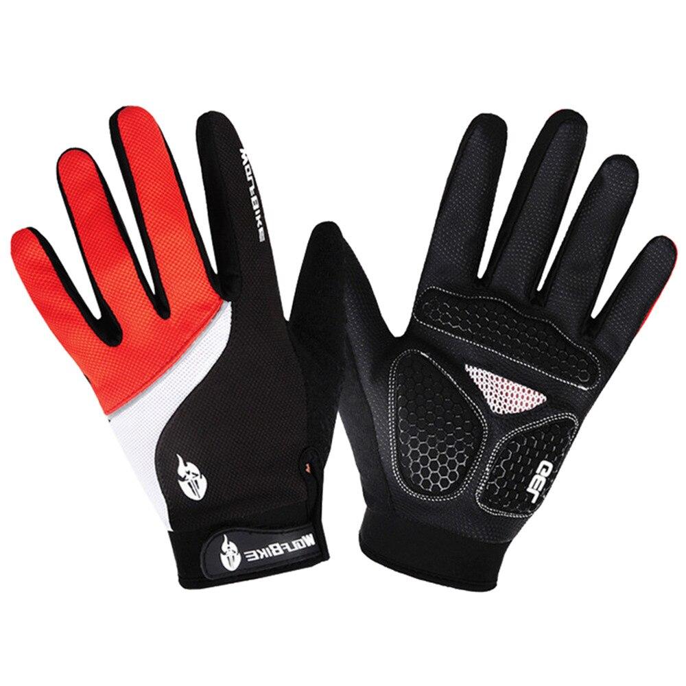 BSTOO1/OO6 Medio dedo/guantes llenos del dedo de gel de sílice a prueba de golpe