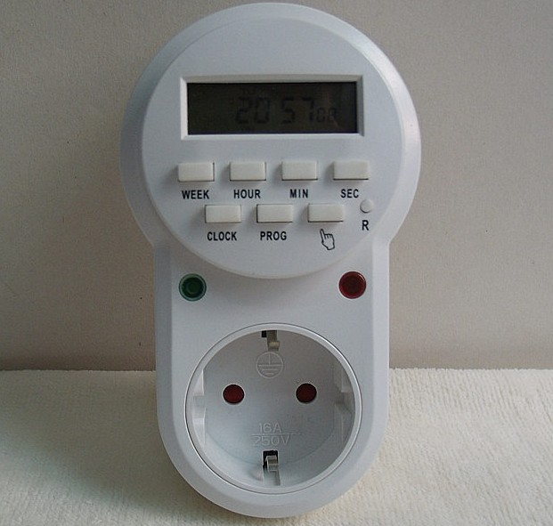 High quality programmable timer socket digital LCD power time switch converter for home universal equipment appliance 0 01 999 second 8 terminals digital timer programmable time relay