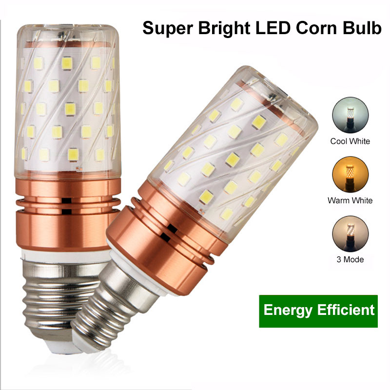 E27 LED Lamp E14 LED Corn Bulb SMD5730 220V 60LEDs 84LEDs Cold White / Warm White / Double White Light For Home Decoration