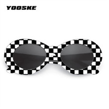 YOOSKE Clout Goggles Sunglasses NIRVANA Kurt Cobain Sunglasses Men Vintage Retro Female Male Sun Glasses Women's Glasses UV400