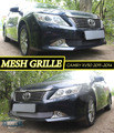 Mesh grille for Toyota Camry XV50 2011-2014 car styling molding decoration protection chrome pad cover stainless