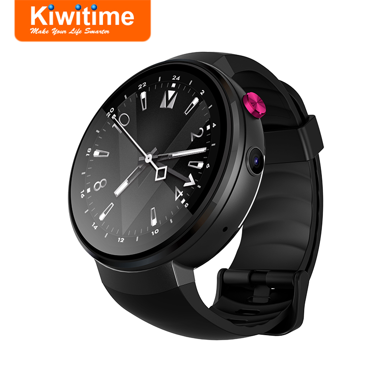 KIWITIME KS18 4G LTE Smart Watch Phone Android 7.0 1GB 16GB MTK6739 Connect SIM GPS Heart Rate