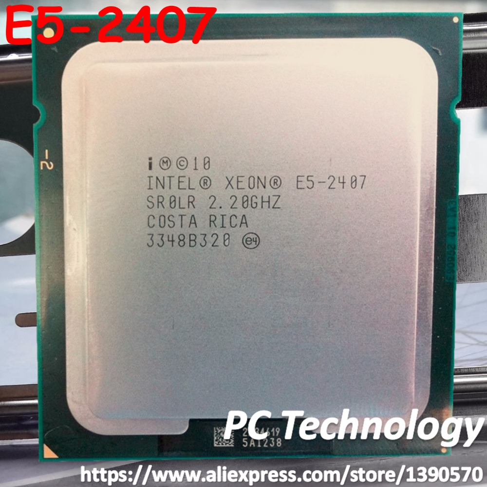 E5 2407 Original Intel Xeon E5 2407 2.20GHZ 4 Core 10M Cache DDR3 1066MHz  FSB FCLGA1356 TPD 80W free shipping-in CPUs from Computer & Office on ...