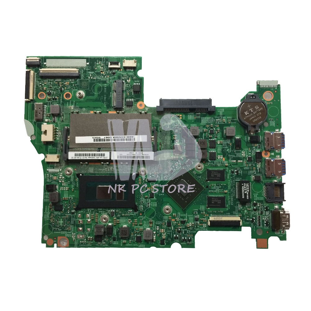 46M.03NMB.0067 For Lenovo 300S-14ISK 500S-14ISK Laptop Motherboard 14 Inch SR2EZ i7-6500U DDR3L GeForce <font><b>920M</b></font> Video Card image