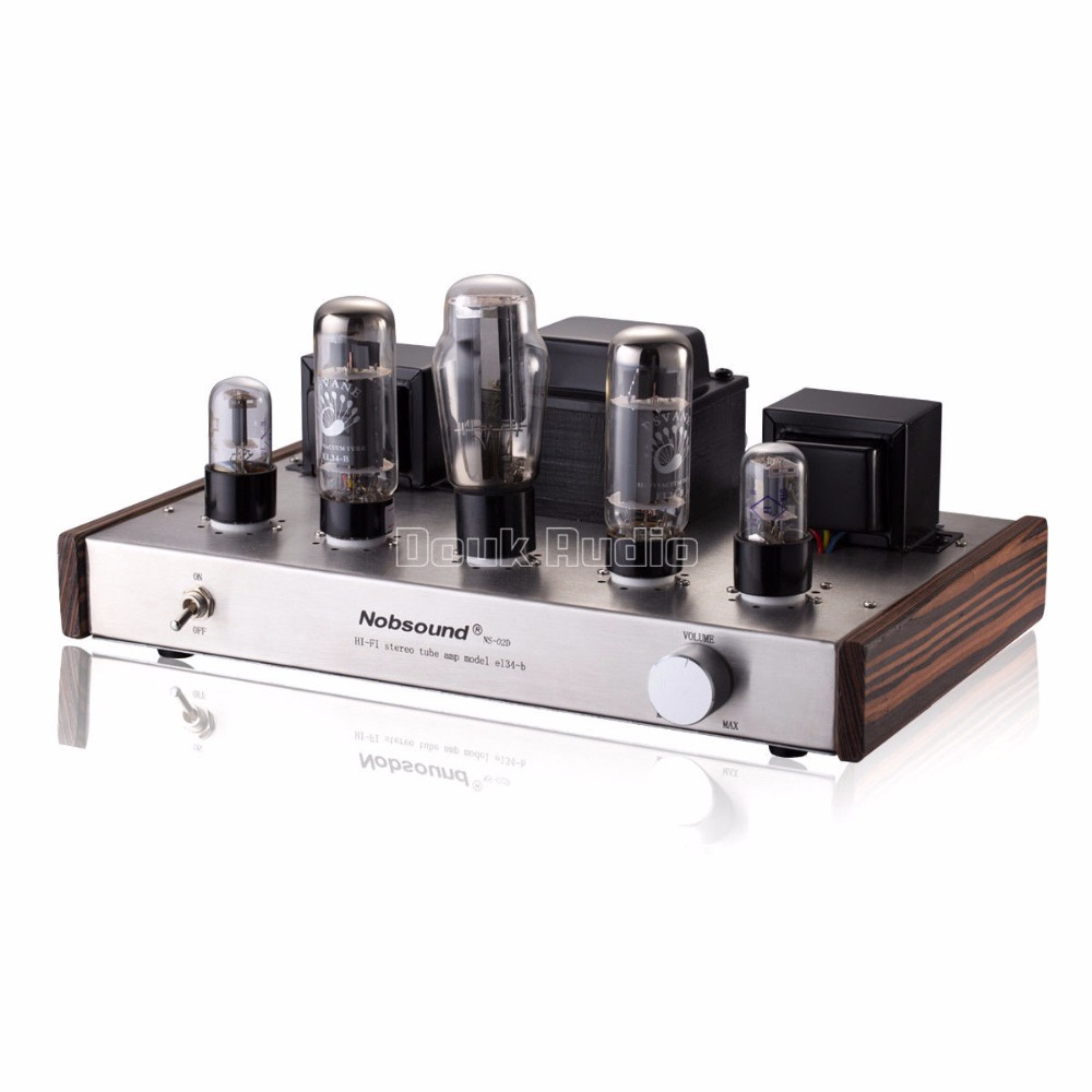2018 Latest Nobsound 5Z3P Push PSVANE EL34 Single-ended Class A Vacuum Tube Amplifier 2.0 Channel Stereo Audio HI-FI Amp music hall pure handmade hi fi psvane 300b tube amplifier audio stereo dual channel single ended amp 8w 2 finished product