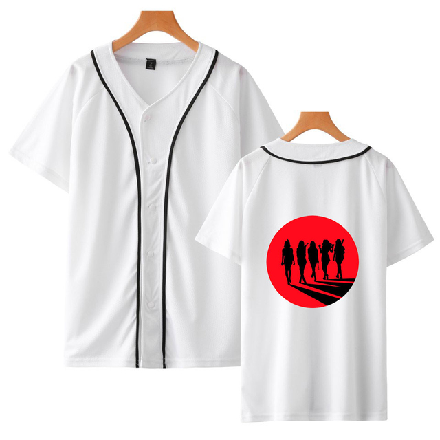 RED VELVET BASEBALL T-SHIRT (12 VARIAN)