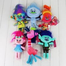 Newest 6 styles Trolls Plush Toys Poppy Branch Stuffed Cartoon Dolls The Trolls Christmas Gifts