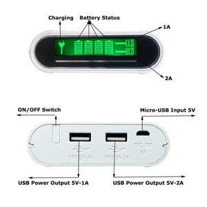 Image 4 - TOMO M4 chargeur dalimentation intelligent housse de batterie portative 4X18650 batterie lithium ion Portable bricolage chargeur de boîte Powerbank pour batterie 18650