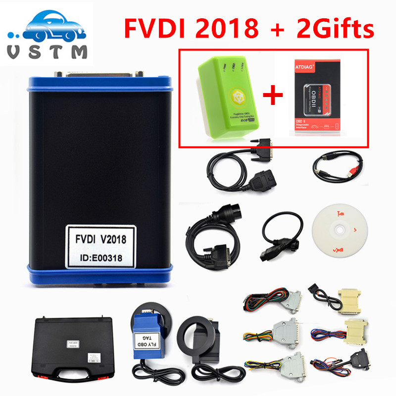 FVDI 2018 Car-Styling Diagnostic Scanner V2018 FVDI ABRITES Commander With 18 Software In Auto Diagnostic Tool 2015 Version