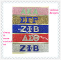 Bling bling rhinestone bracelet SGR AKA ZPB DST magnetic leather stone jewelry sorority fraternity decoraction.OGL-MIX1.5-10pcs