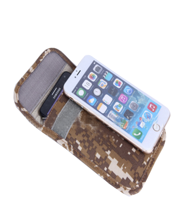 Anti-Scan Card Sleeve Bag For Iphone 6 Plus & Similar Size W/ Radiation Jammer Bag Phone Case Radiation Protector Anti Scanning