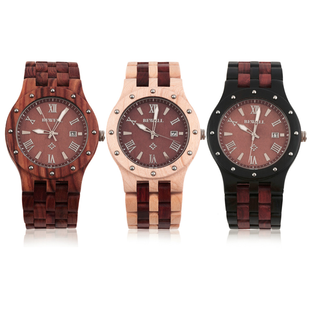 ФОТО Worldwide Store  Fashion Cool Men Sandalwood Wooden Quartz Watch Round Wristwatch  2017 Hot Selling