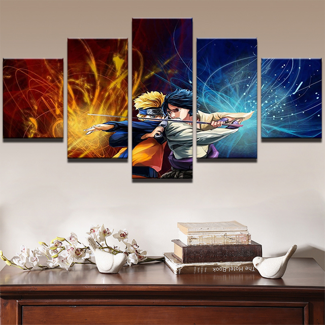 Naruto Canvas Painting Modern Living Room Home Decoration