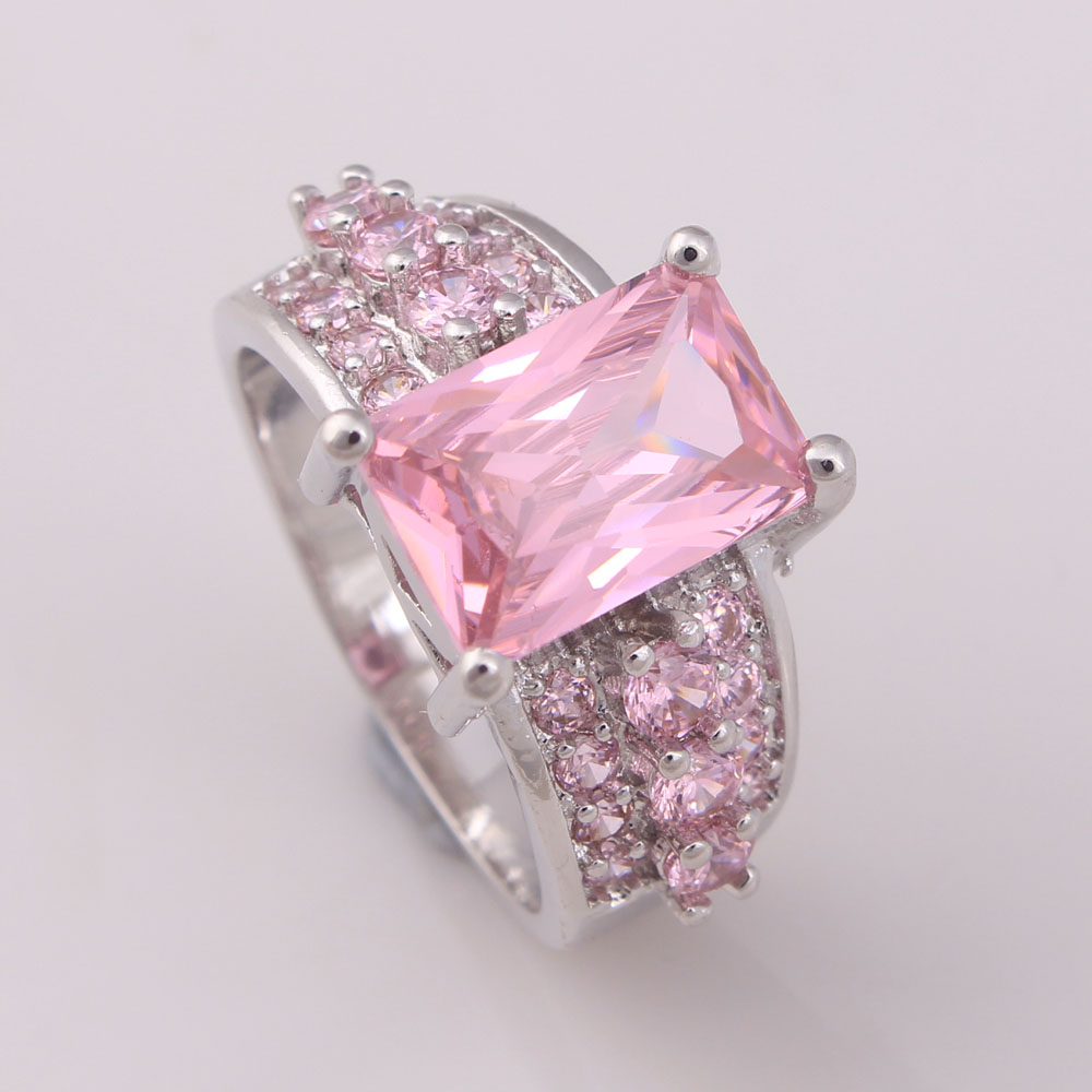 royal blue purple pink red white red color Cubic Zircon zircon ...