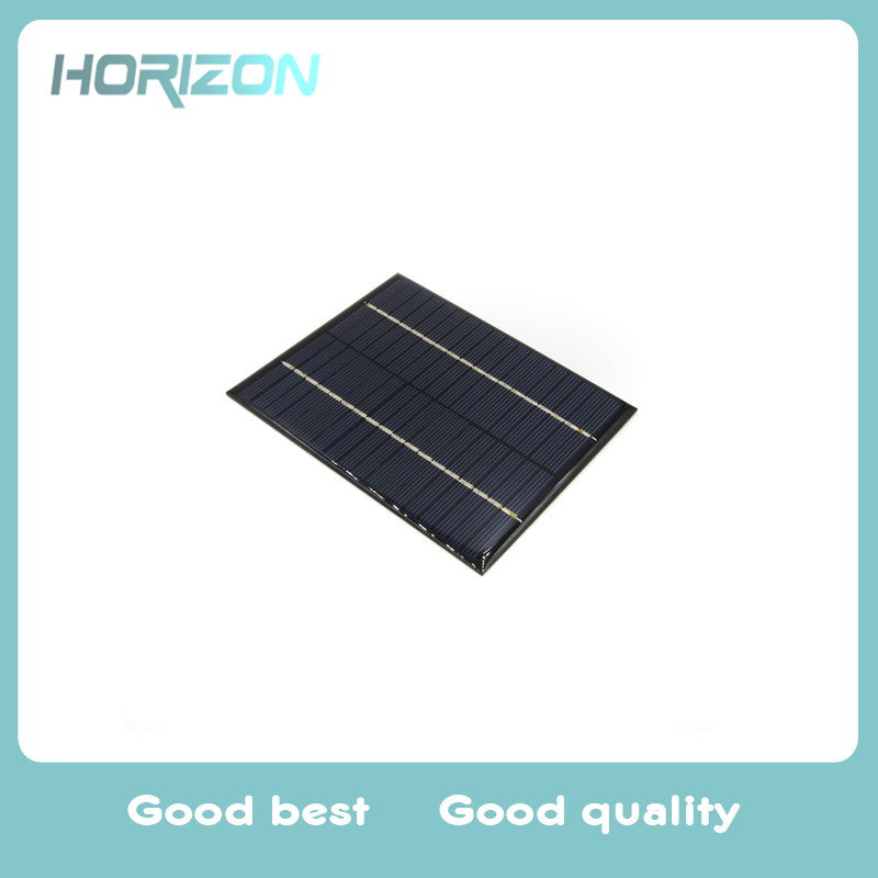 2W 18V Polysilicon Solar Panel PV Plate Charge Battery Power Electronic Outdoor Travelling Powerbank DIY Module Cell