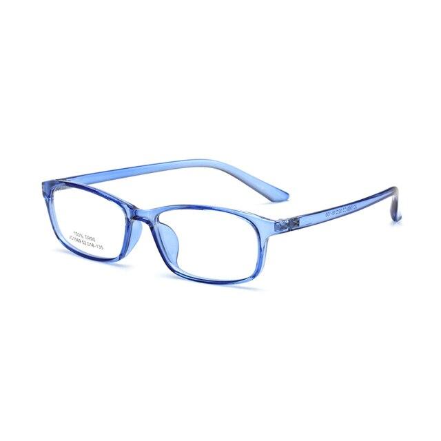 371485d3288fb Light Small Face Men Women Children Glasses Frame Candy Color Prescription Myopia  Eyewear Rack Eyeglasses Brand Designer 91069W