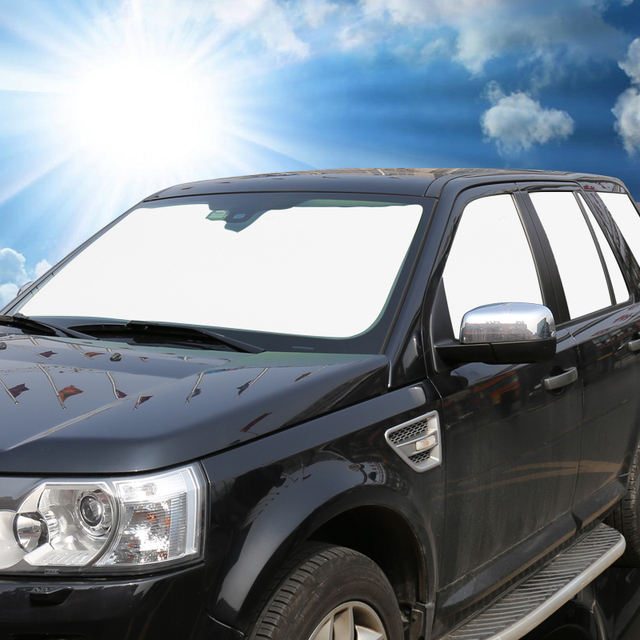 Car custom car sun shade 6 sets thicker insulation before the sun visor sun  block special file 92ffb6343ee