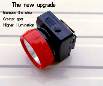 The Most Welcomed Among Mimers LD-4625 Professional Led Miner Lamps Headlamp Head light as Best Gift for Christmas