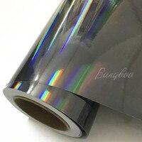 1.52*20m Laser Chrome Holographic Rainbow Color Film Wrap Car Vinyl Sticker