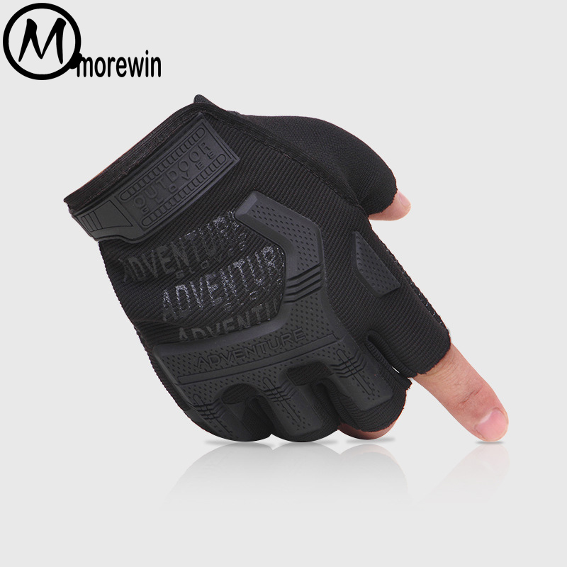 Men Half Finger Tactical Fingerless Gloves Mens Outdoor Sports Riding Climbing Camouflage Non-slip Damping Men Fingerless Gloves