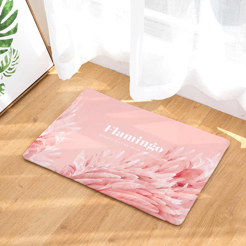 CAMMITEVER Pink Flamingo Children Bedroom Rugs Comfort Mats ...