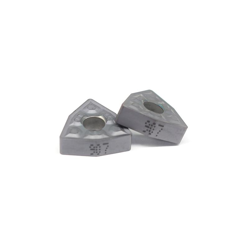 10PCS WNMG080408 TF IC907 External Turning Tools Carbide Insert Lathe Cutter Tool Tokarnyy Turning Insert