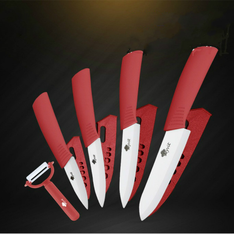 5PCS/SET Fruit knife home multi function kitchen set ceramic knife meat knife sushi knife ZP01051802