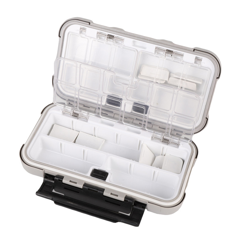 Tackle Fishing Accessories Box 20*12*5cm 20CM Compartments 3Color Fish Lure Line Hook