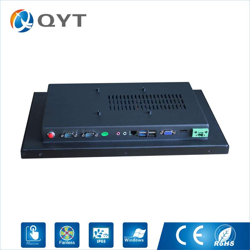 Image 3 - 15.6 inch all in one pc / J1900 2.0GHz/128G SSD 4GB RAM Resistive Touch Screen 1366x768 Industrial Computer Embedded Led PC-in Mini PC from Computer & Office