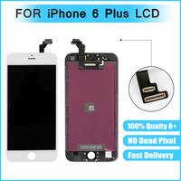 10pcs Lot Quality AAA Black White For Iphone 6 Plus Lcd Display Screen Digitizer Replacement For