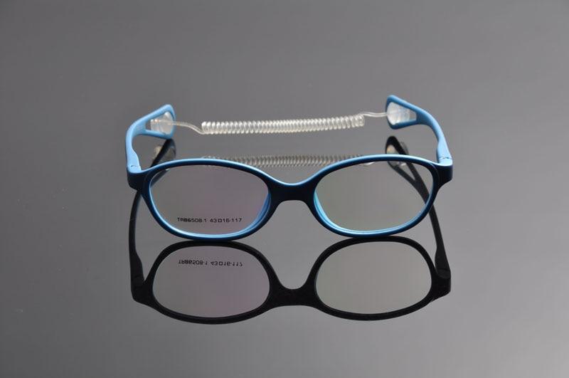 DEDING Okulary dziecięce z sznurkiem rozmiar 43, oprawka w kolorowe - Akcesoria odzieżowe - Zdjęcie 2