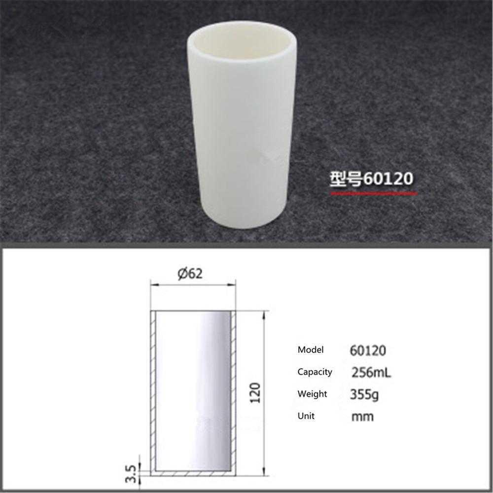 99.5% Cilindrica corindone crogiolo/256 ml 60120/resistenza alla Temperatura di 1600 gradi/sinterizzato ceramica crucibl99.5% Cilindrica corindone crogiolo/256 ml 60120/resistenza alla Temperatura di 1600 gradi/sinterizzato ceramica crucibl