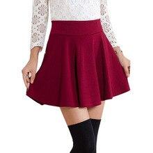 Stylish Pleated Safety Mini Skirt