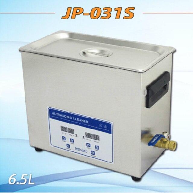 JP-031S 180W 6.5L Digital Ultrasonic Cleaner Hardware Parts Circuit Board Washing Machine With Basket