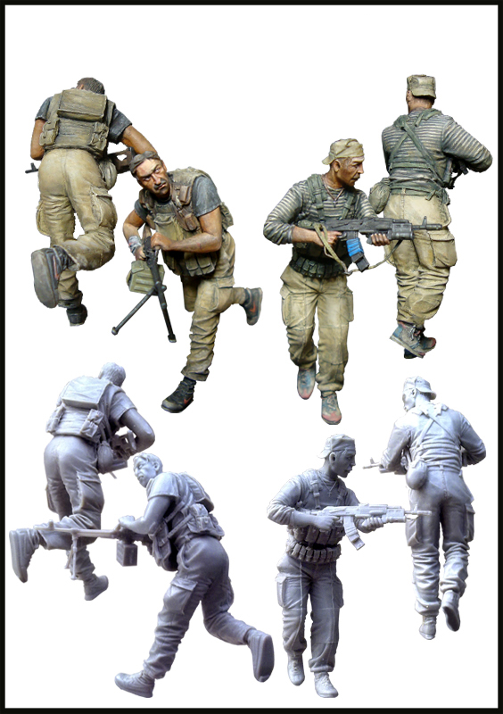 все цены на pre order-Resin toys Russian contract soldiers(Chechen Republic 95-96)) Free shipping