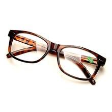 51895ab23e Leopardo bifocales lente gafas de lectura y claro lente lejos Vista y cerca  de lectura lente de la resina de la presbicia hiperm.