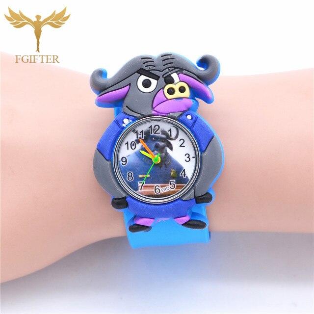 Fashion Children Watch For Boy Silicone Strap Wristwatch Student Casual Quartz W