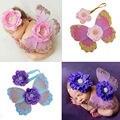 2016 Caliente! Mariposa Diadema Newborn Fotografía Atrezzo Apoyos de la Fotografía Envío Aderecos Fotografia 13 Colores Disponibles Lindo Apoyos