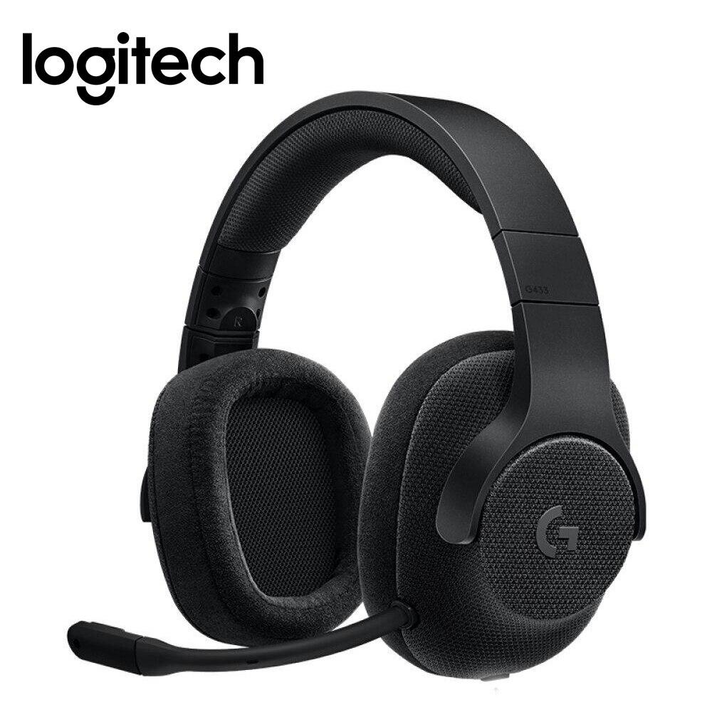 Logitech G433 Filaire 7.1 Channel Sound Gaming Headset Avec Micro Pour PUBG FPS Jeu Casque Pour Ordinateur Portable PS4 Xbox Un VR PC Gamer