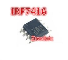 10PCS IRF7416TRPBF SOP-8 IRF7416TR SOP IRF7416 F7416 ics307 ics307m 02lf sop 16