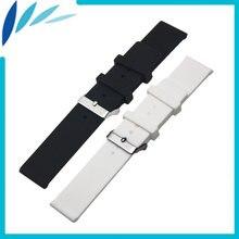 Ремешок силиконовый для наручных часов резиновый браслет longines