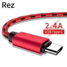 USB Type C Cable for Xiaomi mi a1 redmi note 7 Fast Charging Samsung S9 Huawei Data Cord Wire кабель usb type c